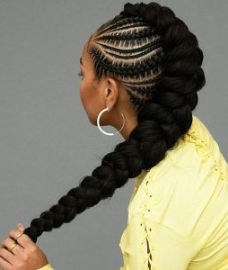 35 Mohawk Braids Hairstyles   Cool Braid Hairstyles Within Current Pouf Braided Mohawk Hairstyles (View 4 of 25)