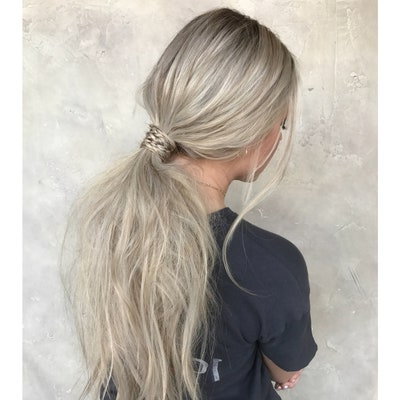 37 Cool Ponytail Hairstyles To Try In 2019 | Glamour Pertaining To Most Recent Chic Black Braided High Ponytail Hairstyles (View 24 of 25)