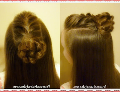 4 Cute Top Knot Hairstyles, Half Up Bun Tutorials Inside Best And Newest Rope Half Braid Hairstyles (View 4 of 25)