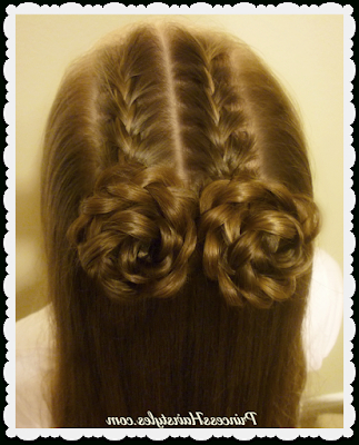 4 Easy Hairstyles For School, Cute And Heatless, Part 3 For Recent Double Rose Braids Hairstyles (View 3 of 25)