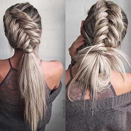 40 Best Braided Hairstyles For Long Hair   Hairstyles And In Most Recent Pancaked Side Braid Hairstyles (View 14 of 25)