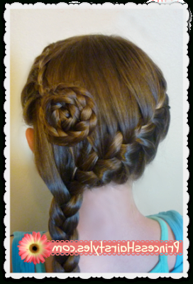 5 Braided Flower Hairstyles For Spring!   Hairstyles For Inside Newest Double Rose Braids Hairstyles (View 23 of 25)