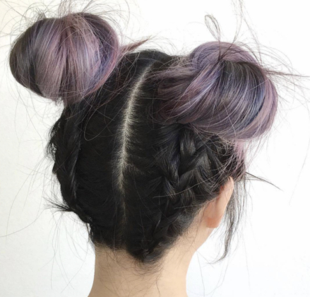 50 Beautiful Easy Updos For Trendy Long Haired Ladies Within Current Folded Braided Updo Hairstyles (View 3 of 25)