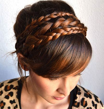 50 French Braid Hairstyles For 2015   Stayglam For Most Recent Defined French Braid Hairstyles (View 6 of 25)