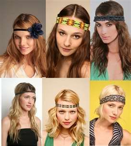 60'S Girls   Hippie Hair, Boho Headband, Great Hairstyles With Regard To Most Recent Hippie Braid Headband Hairstyles (View 16 of 25)