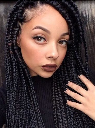 75 Super Hot Black Braided Hairstyles To Wear Pertaining To Most Recent Loose Historical Braid Hairstyles (View 10 of 25)
