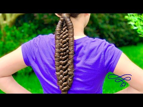 (89) Double Wrap Knot Braid – Youtube In 2020   Knot Braid With Regard To Current Double Rose Braids Hairstyles (View 24 of 25)
