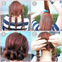 9 Types Of Classy Braided Hairstyle Tutorials You Should With Regard To Latest Folded Braided Updo Hairstyles (View 7 of 25)