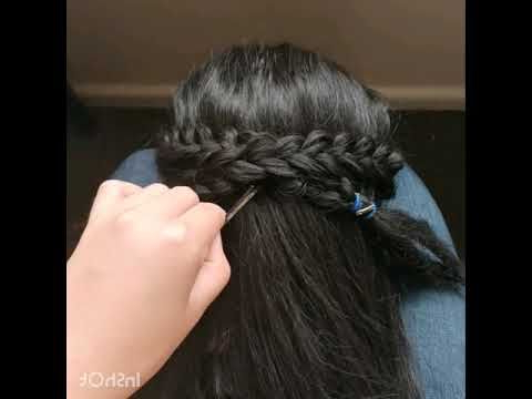 Anna'S Double Braids From Frozen 2   Seamless – Youtube In Intended For Most Recent Double Rose Braids Hairstyles (View 5 of 25)
