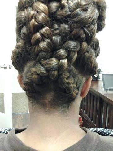 Back Of Goddess Braid | Goddess Braids, Braids, Hair Styles With Regard To Best And Newest Greek Goddess Braid Hairstyles (View 9 of 25)