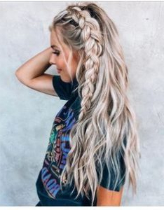 Beach Hairstyles   Cute Summer Hairstyles For The Beach Throughout Most Recently Loose Double Braids Hairstyles (View 12 of 25)