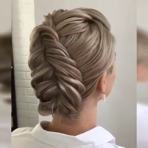 Best 35 Top Knot Bun Ideas On Therighthairstyles In 2020 Intended For Most Recent Knotted Braided Updo Hairstyles (View 18 of 25)