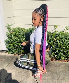 Best Braiding Hair For Box Braids,Best Hair For Box Braids Pertaining To Newest Loose Historical Braid Hairstyles (View 22 of 25)