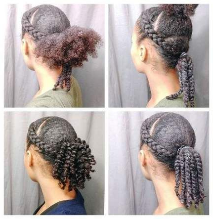 Best Braids Loose Ends Hair Style 40 Ideas   Curly Hair For Latest Loose Double Braids Hairstyles (View 11 of 25)