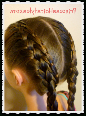 Braid Tutorial – Cinch Knot Feather Braid Hairstyle Intended For Newest Knotted Braided Updo Hairstyles (View 11 of 25)