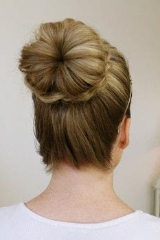 Braid Wrapped Top Knot · How To Style A Braided Bun In 2020 Braided Top Knot Hairstyles (View 18 of 25)