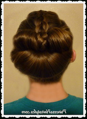 Braided Bow Fan Bun – Easy Messy Bun Tutorial | Fan Bun Intended For Most Up To Date Messy Twisted Braid Hairstyles (View 22 of 25)