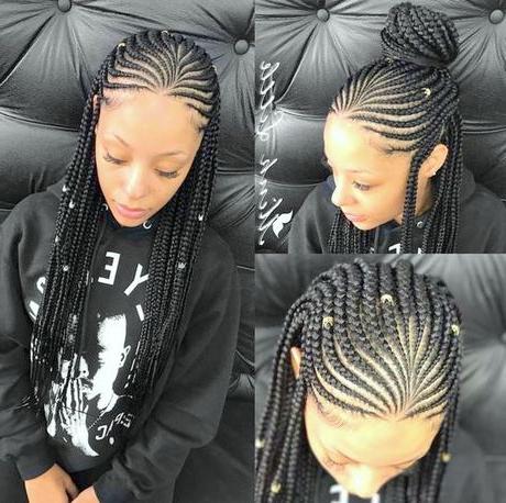 Braided Hairstyles 2019 Regarding Recent Chic Black Braided High Ponytail Hairstyles (View 21 of 25)