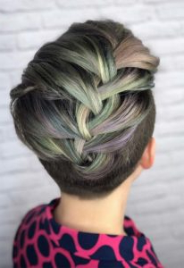 Braided Hairstyles For Short Hair In Latest Defined French Braid Hairstyles (View 23 of 25)