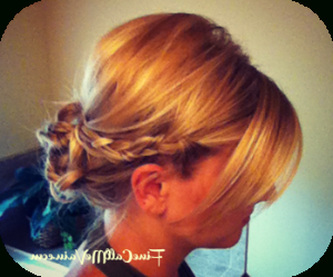 Braided Messy Bun | Messy Bun With Braid, Hair Styles In Latest Messy Twisted Braid Hairstyles (View 23 of 25)