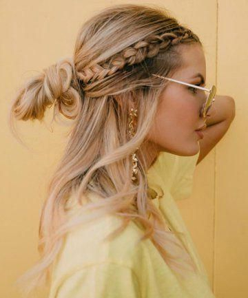Featured Photo of Messy Twisted Braid Hairstyles