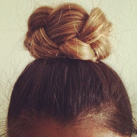 Braided Top Knot   Hair Beauty, Hair Styles, Perfect Hair Within Recent Braided Top Knot Hairstyles (View 23 of 25)