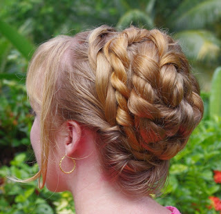 Braids & Hairstyles For Super Long Hair: Spiral Rope Braid Pertaining To Most Recent Rope Half Braid Hairstyles (View 5 of 25)