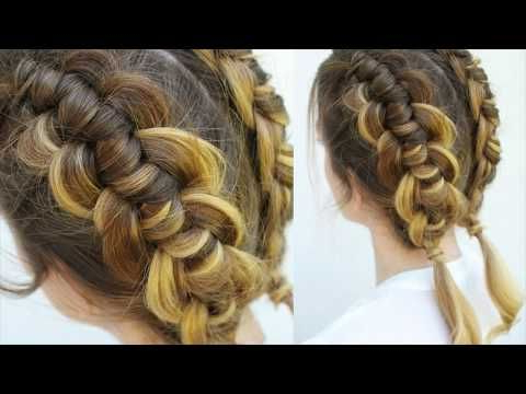 Braidsandstyles12   Pigtail Braids, Up Hairstyles, Knot Braid Inside Newest Knotted Braided Updo Hairstyles (View 3 of 25)