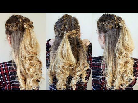 Braidsandstyles12 – Youtube   Braided Hairstyles, Hair In Latest Five Dutch Braid Ponytail Hairstyles (View 22 of 25)