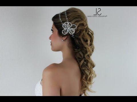 Coque Semi Preso Romano (Met Afbeeldingen) Throughout Latest Light Pink Semi Crown Braid Hairstyles (View 5 of 25)