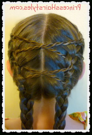 Criss Cross French Braids Hairstyle   French Braid With Regard To Newest Defined French Braid Hairstyles (View 9 of 25)
