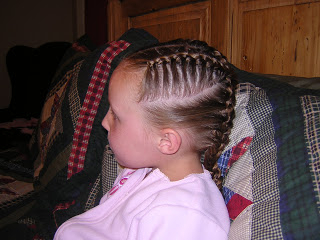 Crossing French Braids   Hairstyles For Girls – Princess Intended For 2020 Defined French Braid Hairstyles (View 22 of 25)