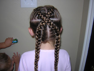 Crossing French Braids   Hairstyles For Girls – Princess Throughout Current Defined French Braid Hairstyles (View 7 of 25)