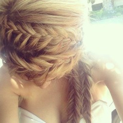 Crown Braids & Double Fishtail | Hairstyles How To Regarding Most Popular Double Braided Single Fishtail Braid Hairstyles (View 9 of 25)