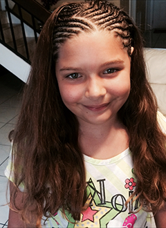 Cute Cornrows For Caucasian Hair; Front Cornrows, Back Inside Most Recent Loose Historical Braid Hairstyles (View 12 of 25)