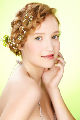 Cute Haircuts For Medium Hairs: May 2012 Intended For 2020 Braided Crown Rose Hairstyles (View 13 of 25)