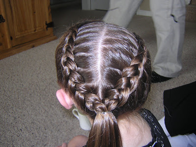 Diagonal Double Dutch Braids – Hairstyles For Girls Regarding Recent Five Dutch Braid Ponytail Hairstyles (View 17 of 25)