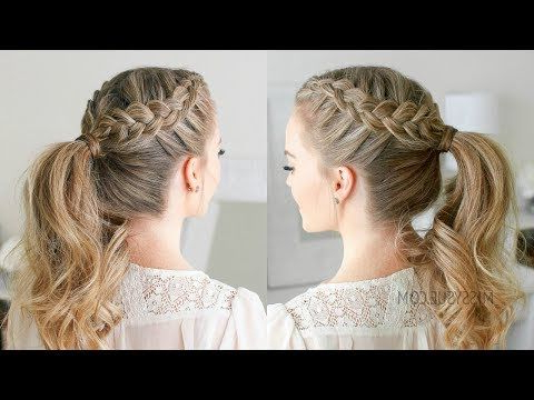 Double Dutch Braid Ponytail, A Beauty Post From The Blog With Most Recently Double Rose Braids Hairstyles (View 18 of 25)
