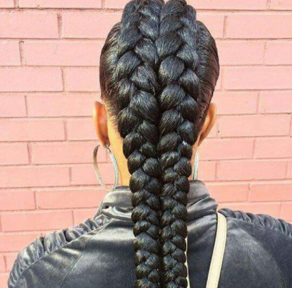 Double Dutch Braid Styles: 8 Epic Pinterest Ideas And 30 Throughout Best And Newest Quad Dutch Braids Hairstyles (View 10 of 25)