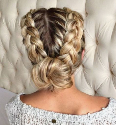 Double Dutch Braid Styles: 8 Epic Pinterest Ideas And 30 Throughout Most Popular Five Dutch Braid Ponytail Hairstyles (View 5 of 25)