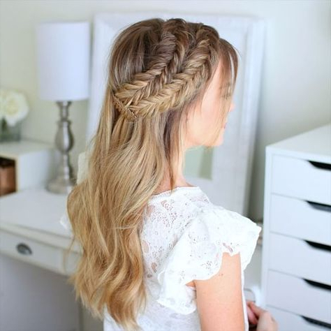 Double Dutch Fishtail Braids ? Check Of The Full Tutorial Inside Best And Newest Double Braided Single Fishtail Braid Hairstyles (View 21 of 25)