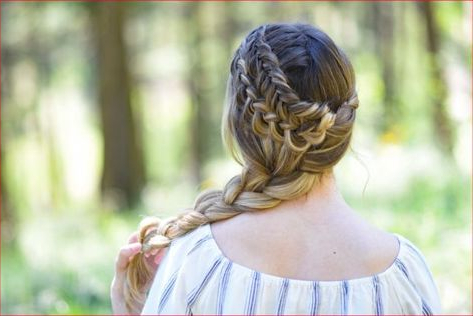 Double Dutch Fishtail Braids | Fish Tail Braid, Hair In Best And Newest Double Braided Single Fishtail Braid Hairstyles (View 25 of 25)