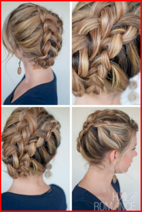 Double Dutch Fishtail Braids | Short Hair Models In Best And Newest Double Braided Single Fishtail Braid Hairstyles (View 4 of 25)