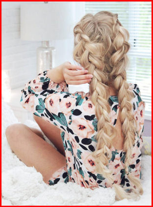 Double Dutch Fishtail Braids | Short Hair Models In Most Recent Double Braided Single Fishtail Braid Hairstyles (View 10 of 25)