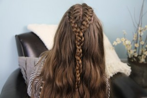 Double French Braid And Twist   Braid Hairstyles – Cute Inside Best And Newest Double Rose Braids Hairstyles (View 9 of 25)