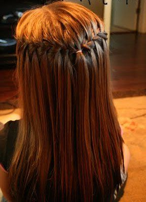 Double Waterfall Braid – Awesome!   Kids Hairstyles, Hair With Regard To Most Up To Date Double Rose Braids Hairstyles (View 2 of 25)