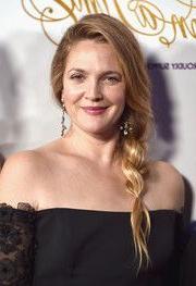 Drew Barrymore Loose Braid   Loose Side Braids, Hair Inside Latest Loose Double Braids Hairstyles (View 24 of 25)
