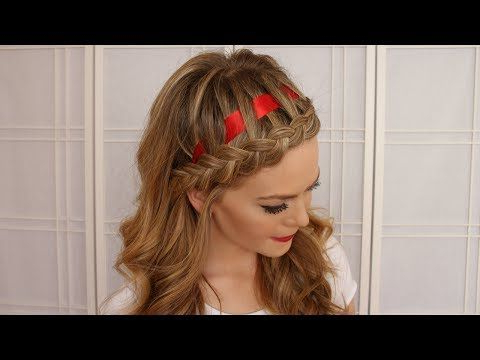Dutch Braided Headband With A Ribbon – Missy Sue | Cool Regarding Most Current Dutch Heart Braid Hairstyles (View 23 of 25)