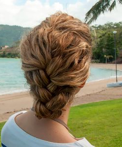 Easiest Tucked French Braid Tutorial Ever (With Images Pertaining To Recent Defined French Braid Hairstyles (View 2 of 25)