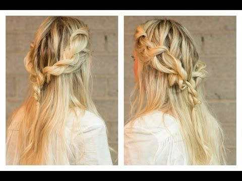 Easy Boho Rope Braid Hair Tutorial | Rope Braided In Most Current Rope And Braid Hairstyles (View 2 of 25)